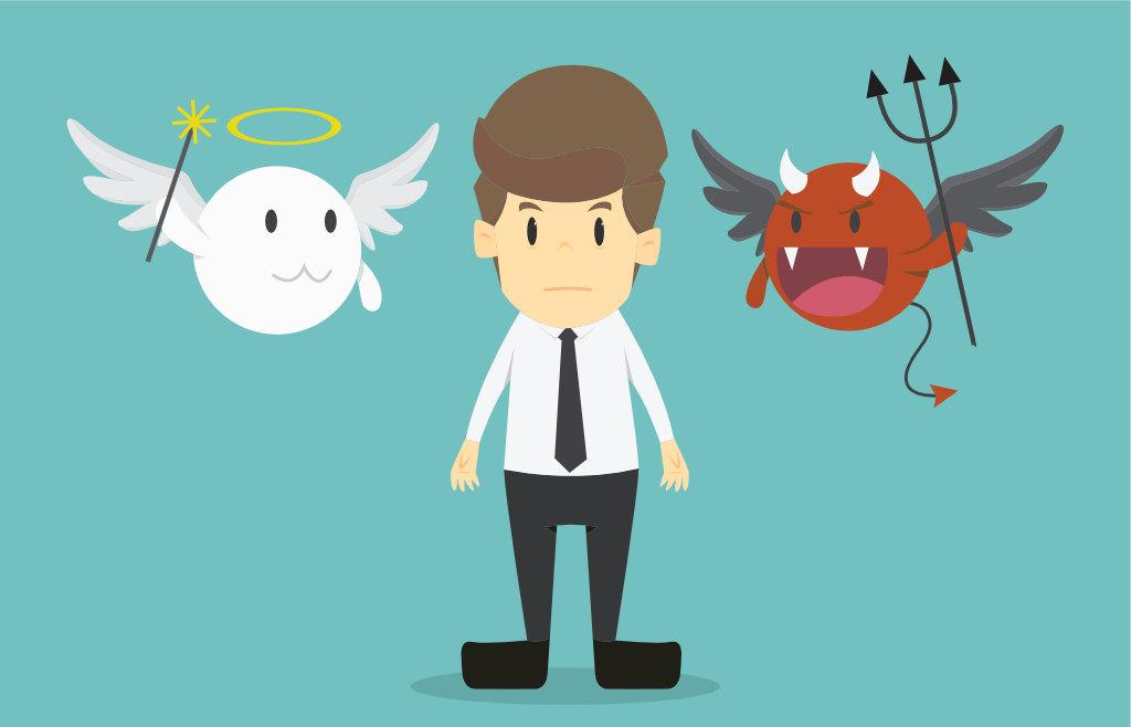 Ethisches oder unethisches Verhalten?, Quelle: Shutterstock