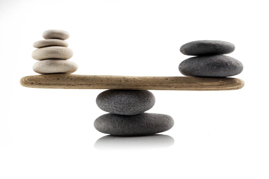 In der Mitte liegt die Kraft, Quelle: Shutterstock